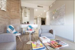 Area soggiorno di Ginevra Rooms