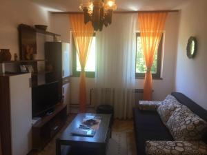 Posezení v ubytování Apartment Andreja