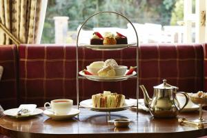 Breakfast options available to guests at Castle House Hotel