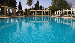 The swimming pool at or near King David Hotel Jerusalem