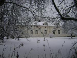 Utajärven Pappila Olden Vicarage talvella