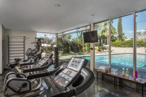 The fitness center and/or fitness facilities at Hotel Nacional de Rio Preto - Distributed by Intercity