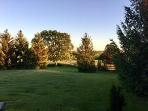 A garden outside Serenity Ranch Bed & Breakfast