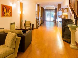 Un lugar para sentarse en Hotel España