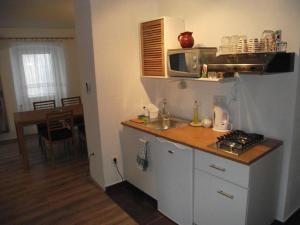 A kitchen or kitchenette at Apartments Dobrinj