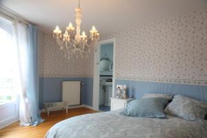 Un ou plusieurs lits dans un hébergement de l'établissement B&B Chantery