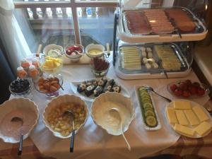 Frühstücksoptionen für Gäste der Unterkunft Gästehaus Rettenbacher