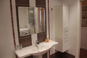 Koupelna v ubytování Jurincom apartments