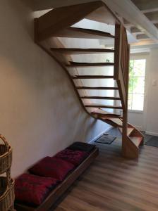 Een bed of bedden in een kamer bij vakantiewoning salix