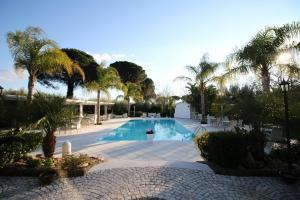 The swimming pool at or close to GaiaChiara Resort