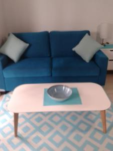 A seating area at Apartment in Dolphin Heads Resort