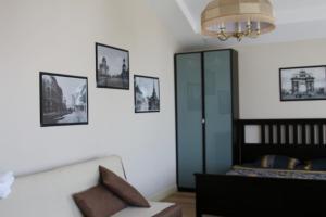 Гостиная зона в Апартаменты Weekend Inn