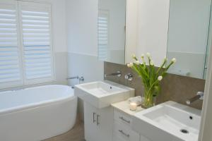 A bathroom at Haven on the Park