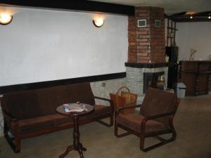 A seating area at Къща за гости Типик