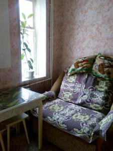 A seating area at Apartment in Gribanowski