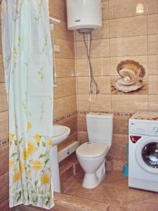 A bathroom at Apartment on Lenina 221/6