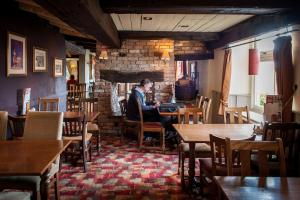 A restaurant or other place to eat at Admiral's Table, Bridgwater by Marston's Inns