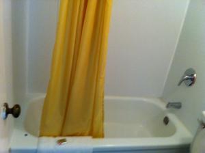 A bathroom at Kings Inn Valliant