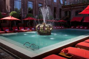 The swimming pool at or close to Faena Hotel Buenos Aires