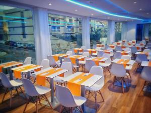 En restaurang eller annat matställe på MB Boutique Hotel - Adults Only