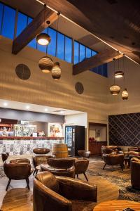 The lobby or reception area at Yarrawonga Mulwala Golf Club