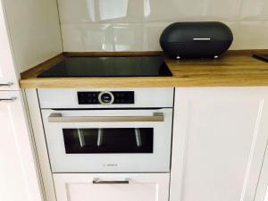 Kuchnia lub aneks kuchenny w obiekcie Apartamenty Platinum
