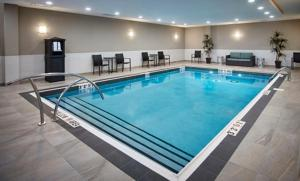 The swimming pool at or near Homewood Suites By Hilton North Bay