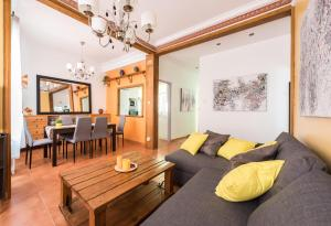 Zona de estar de APARTAMENTO FRIENDS-MADRID