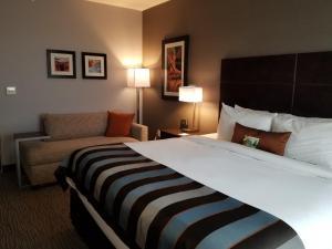 Ein Bett oder Betten in einem Zimmer der Unterkunft Hurricane Wingate at Zion