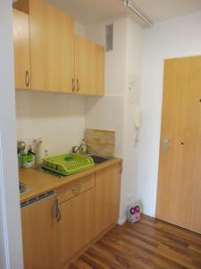 Küche/Küchenzeile in der Unterkunft Schnuckelig und Fein