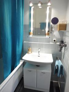 Ein Badezimmer in der Unterkunft Schnuckelig und Fein