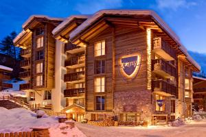 Firefly Luxury Suites during the winter