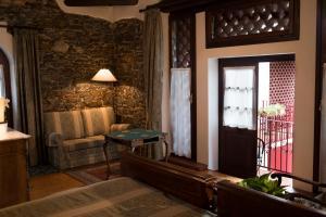 Area soggiorno di Casali del Picchio - Winery