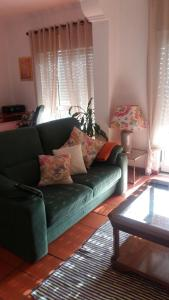 A seating area at Lovely Apartment in Central Azeitão