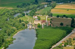A bird's-eye view of Hacienda Zorita Wine Hotel & Organic Farm