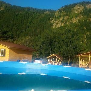 The swimming pool at or near Чемальская Катунь