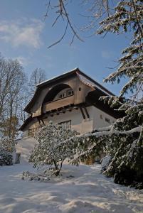Villa Sängerstein im Winter