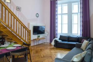Posezení v ubytování Apartment Jindrisska 25