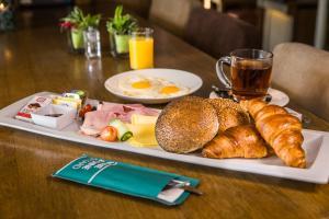 Ontbijt beschikbaar voor gasten van Hotel De Limbourg
