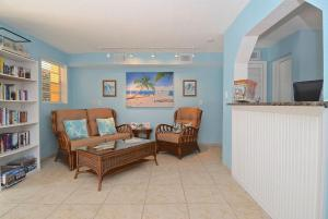 The lobby or reception area at A Beach Retreat on Casey Key