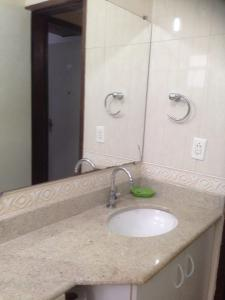 A bathroom at Flat ed São Gonçalo