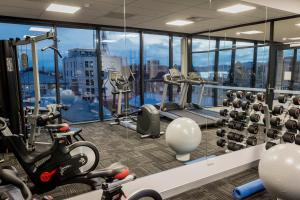 The fitness center and/or fitness facilities at Ibis Styles Hobart