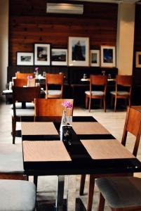 A restaurant or other place to eat at Gakyil Thimphu