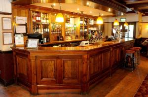 The lounge or bar area at Red Lion, Wigan by Marston's Inns