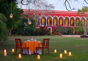 A restaurant or other place to eat at Hacienda Temozon a Luxury Collection Hotel