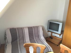 Ein Sitzbereich in der Unterkunft Hotel Stadt Mainz