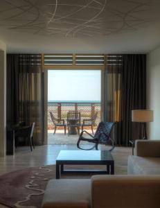 A seating area at Park Hyatt Abu Dhabi Hotel and Villas