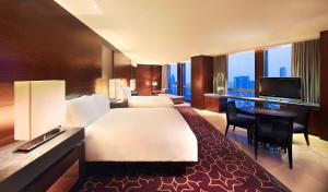 A television and/or entertainment center at Grand Hyatt Guangzhou