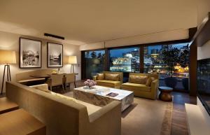 A seating area at Park Hyatt Sydney