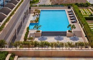 A view of the pool at Hyatt Regency Chandigarh or nearby